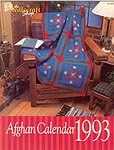 The Needlecraft Shop Afghan Calendar 1993