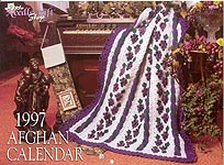 The Needlecraft Shop Afghan Calendar 1997