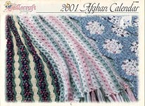 The Needlecraft Shop Afghan Calendar 2001