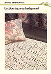 Marshall Cavendish LTD. Lattice Squares Bedspread