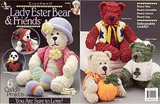Annies Attic Lady Ester Bear & Friends