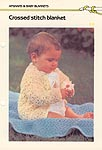 Marshall Cavendish LTD Crossed Stitch Baby Blanket