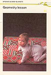 Marshall Cavendish LTD Geometry Lesson Baby Afghan