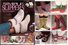 Annie's Attic Simple Slippers