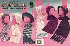 Annie's Attic Crochet Chenille Hats & Scarves