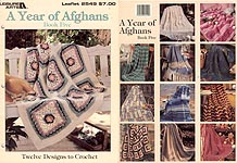Leisure Arts A Year of Afghans, Book 5