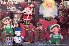 Alexander Stratton Christmas Toys to Crochet