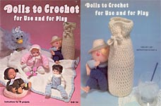 Dolls to Crochet for Use and for Play