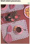 Marshall Cavendish LTD Shell Stitch Placemats