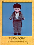 Groom, by Td creations, inc. for 13 inch doll