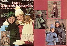 Leisure Arts Hats, Mittens, & Scarves to Knit & Crochet