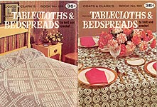 Coats & Clark's Book No. 193: Tablecloths & Bedspreads to Knit and Crochet