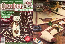 Crochet World, December 1996.