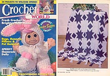 Crochet World, April 1993.