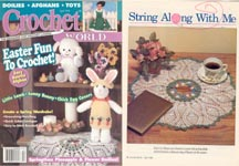 Crochet World, April 1996.