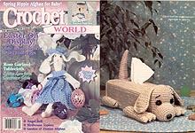 Crochet World, April 1997.