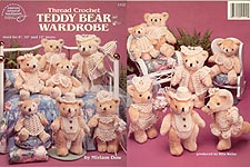 Thread Crochet Teddy Bear Wardrobe