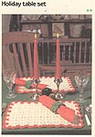 Marshall Cavendish LTD Holiday Table Set