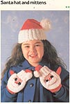 Marshall Cavendish LTD Santa Claus Hat & Mittens