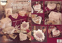 Leisure Arts Sweetheart Boxes to Crochet