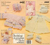 Knitting & Crochet With Style from Simplicity: Baby Boutique to Knit and Crochet