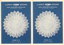 Clarks ONT Designs for Edgings, Insertions, & Medallions, Book No. 9