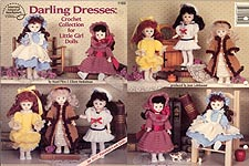 Darling Dresses: Crochet Collection for Little Girl Dolls