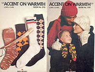Coats & Clark Book No. 278: Accent on Warmth