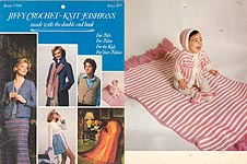 Jiffy Crochet- Knit Fashions Made With the Double End Hook