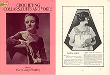 Dover Needlework Series Crocheting Collars,Cuffs, and Yokes