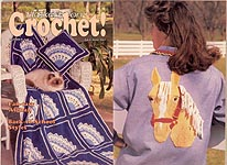 Hooked on Crochet! #4, Jul-Aug 1987