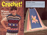 Hooked on Crochet! #16, Jul-Aug 1989