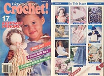 Hooked on Crochet! #25, Jan-Feb 1991