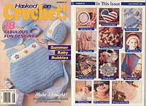 Hooked on Crochet! #28, Jul-Aug 1991