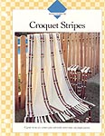 Croquet Stripes afghan