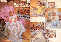 Baby's Best to Knit and Crochet from Leisure Arts