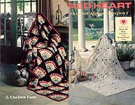 Red Heart Book 368: Victorian Afghan Collection I