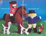 Annie's Attic Soft Sculpture English Fox Hunt
