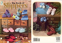 Big Book of Slippers, from House of White Birches
