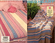 Red Heart Book 339: Afghans To Crochet,