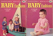 Coats & Clark #191: Baby Fashions to Knit and Crochet