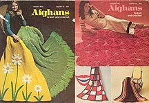 LA Afghans to Knit and Crochet, Leaflet 12