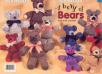 Patons A Bevy of Bears to Knit and Crochet
