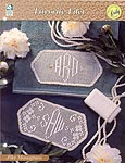 HWB Collectible Doily Series: Filet Monogram