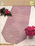 HWB Collectible Doily Series: Rose Filet Runner