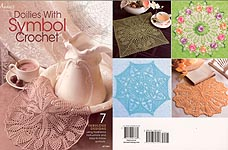 Annie's Doilies with Symbol Crochet