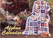 The Needlecraft Shop Afghan Calendar 1999