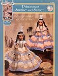 Princesses Sunrise and Sunset outfits for 15 inch dolls