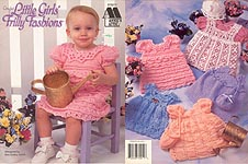Annie's Attic Little Girls' Frilly Fashions