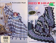 Red Heart Book 1406: Easy Afghans to Knit & Crochet